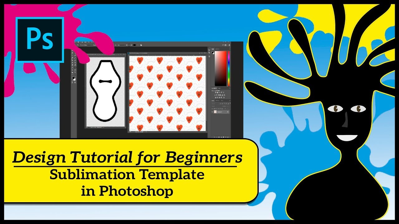 sublimation design tutorial for beginners
