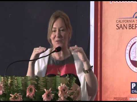 Prof. Lotta Dellve, KTH Royal Institute of Technology, Sweden during ICON-2013 at SMS Varanasi