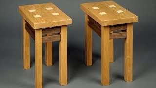 Making A Pair Of Custom End Tables: Andrew Pitts ~ Furnituremaker