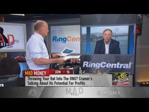 RingCentral CEO talks Avaya deal with Jim Cramer