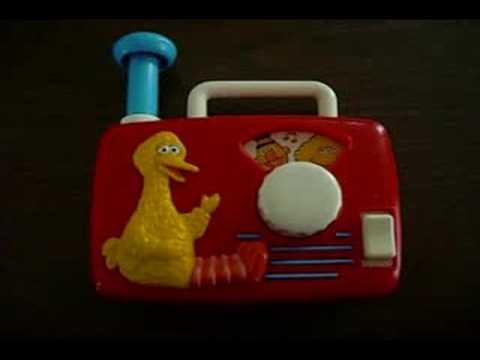 Bigbird Radio Toy