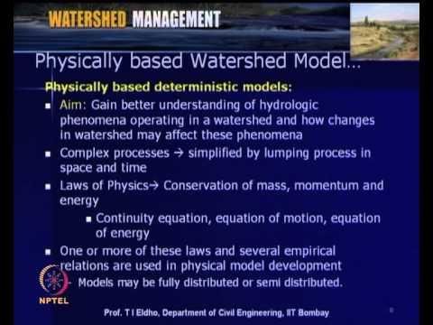 Mod-04 Lec-16 Hydrologic Modeling