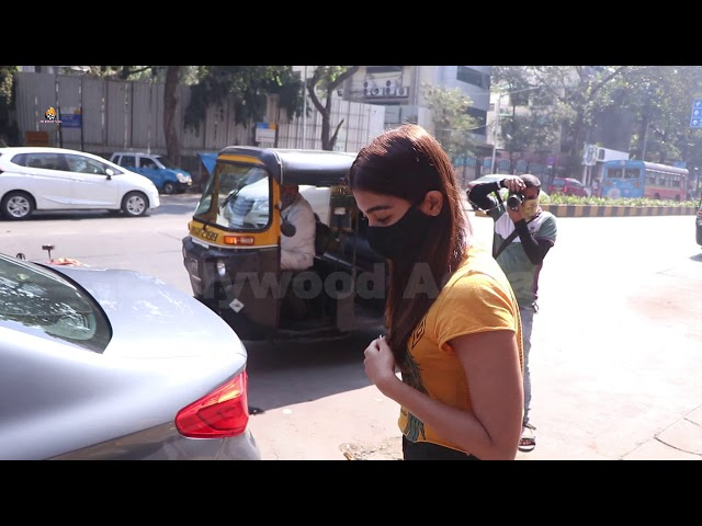 Pooja Hegde Snapped At Store In Bandra
