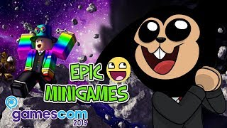 ROBLOX GAMES FROM GAMESCOM 2019! (Germany) - EPIC MINIGAMES