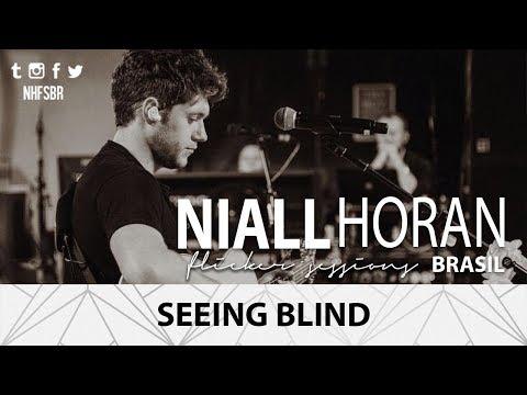 SEEING BLIND - Niall Horan (LYRICS)