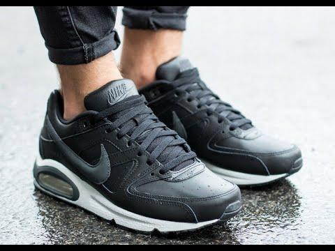 Кроссовки мужские Nike Air Max Command Leather. ( Кожаные Пушки )