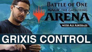 MTG Arena: Grixis Control with Ali Aintrazi [Bo1 Format]