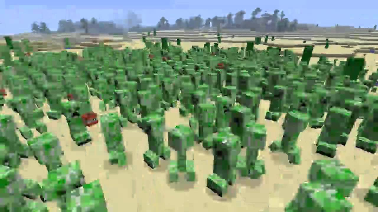 how to catch creepers in minecraft