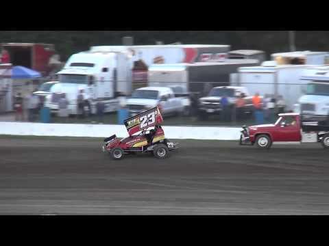 34 Raceway MOWA Sprint Car Series Time Trials 9/6/14