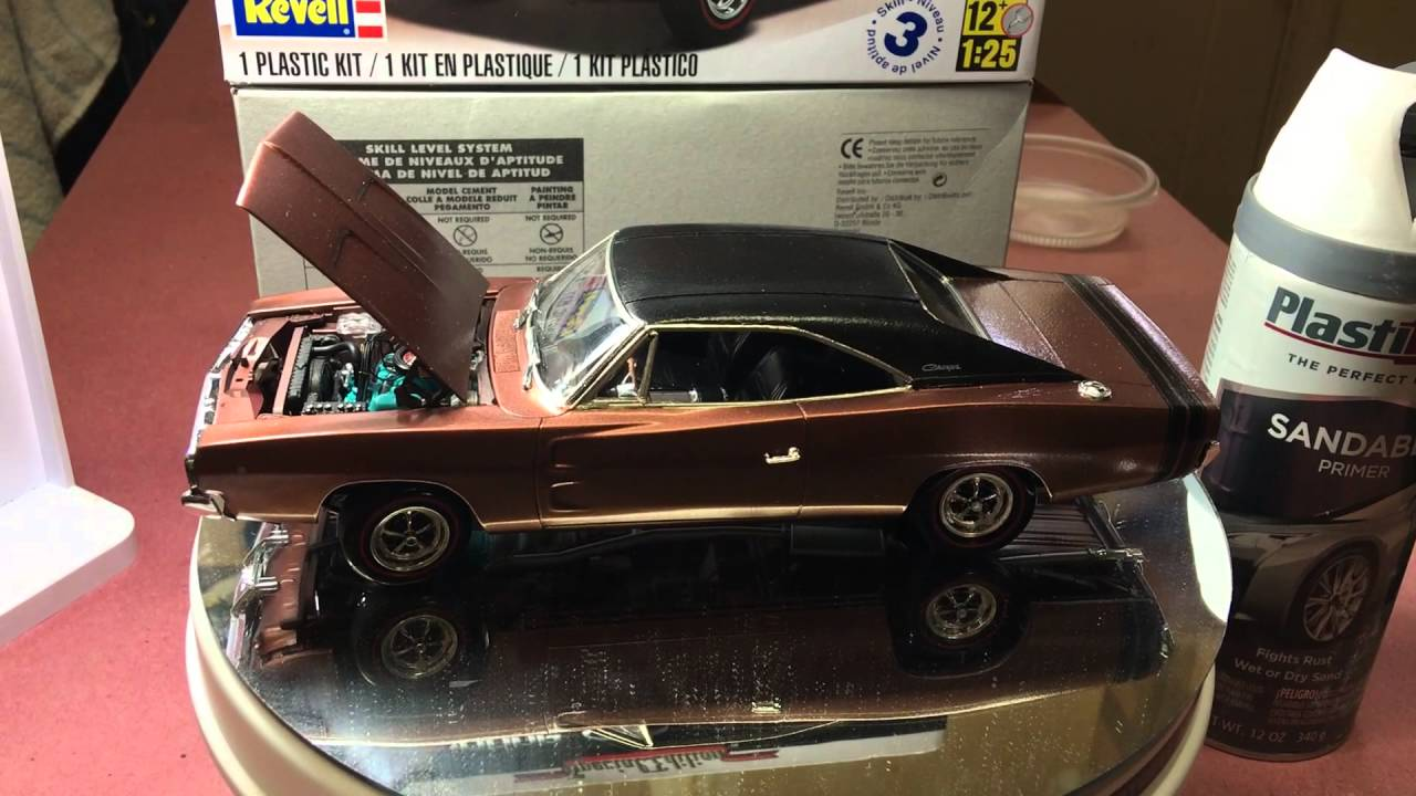68 Dodge Charger R T By Revell Build Final Update Youtube