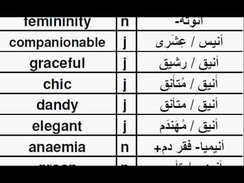 TAE01أر  قاموس عربي إنجليزي, Arabic English Dictionary