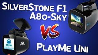 видео Видеорегистратор  SilverStone F1 A80 Sky GPS
