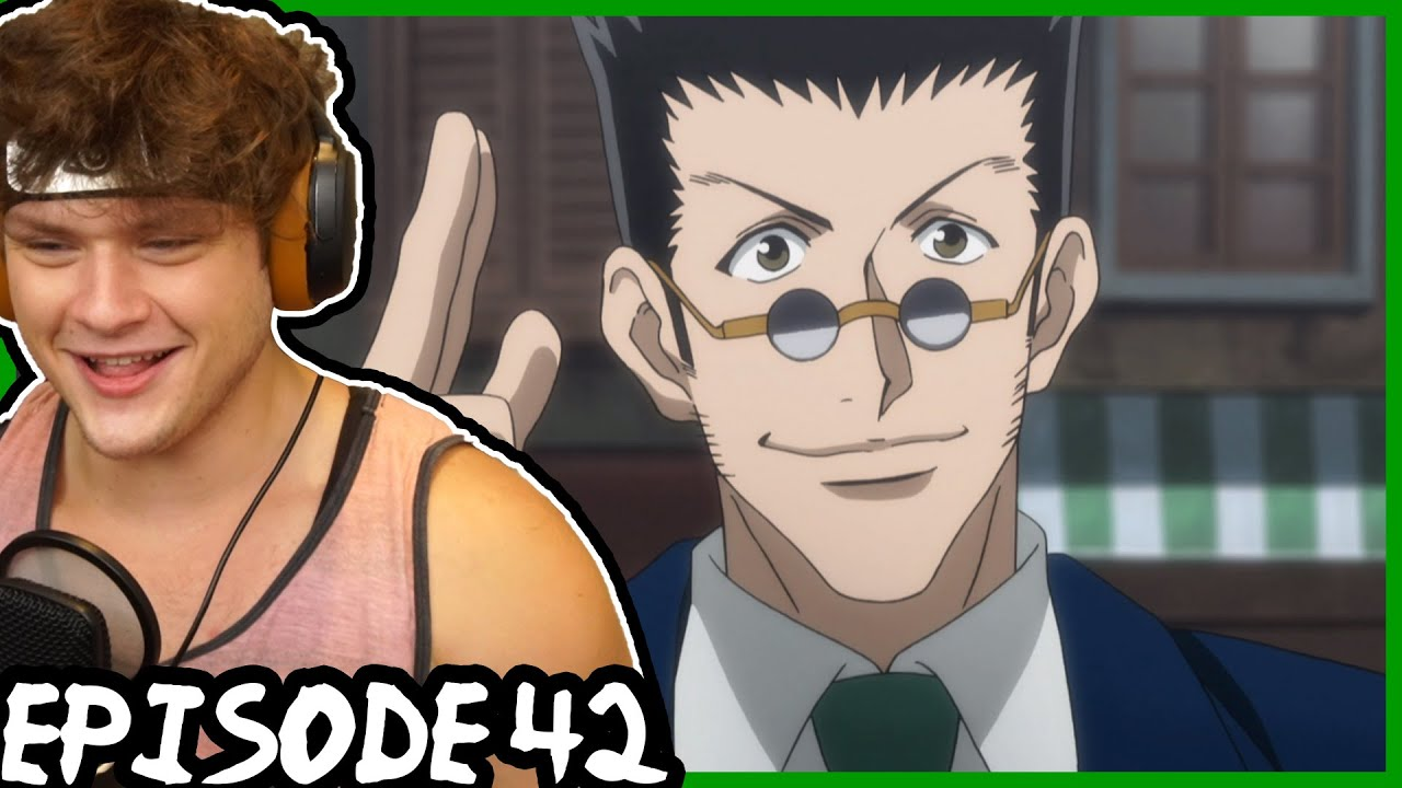 The Return Of The King Leorio Is Back Hunter X Hunter Reaction Episode 42 Youtube