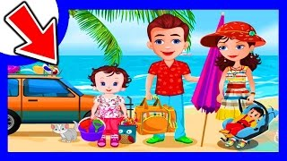 SUN Holiday BATH! Funny BABY Lisi BEACH Party ǀ TOP Best APPS For KIDS