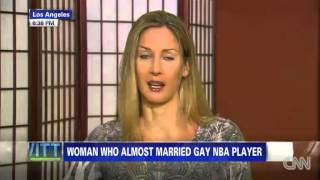 Piers Morgan - Ex-Fiancee On Jason Collins Coming Out - 01/05/2013