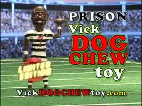 The NEW Vick Dog Chew Toy Limited Edition