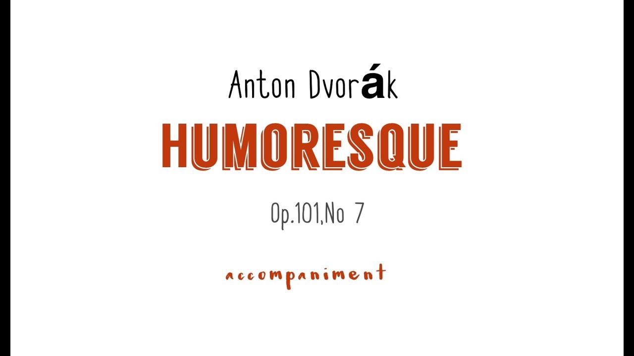Download A.Dvorjak  HUMORESQUE/accompaniment