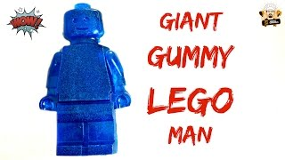 HOW TO MAKE A GIANT GUMMY LEGO MAN