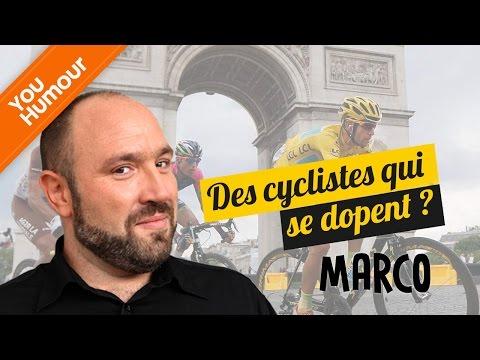 MARCO - Des cyclistes qui se dopent?