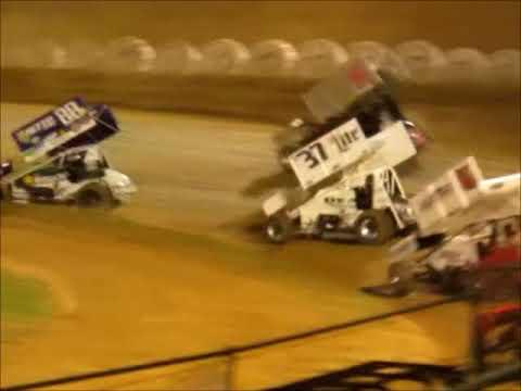 Sprintcar SCCT Main @ Placerville Speedway 3 31 18