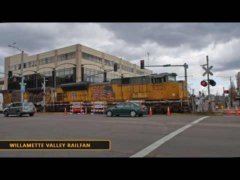 Crossing work at State Street, Salem - 3.25.20 to 4.3.20 - Union Pacific Brooklyn Sub, Oregon