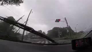 長めドライブ雑談(台風接近中の那須は豪雨・強風・濃霧でした)
