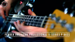 FENDER AMERICAN PROFESSIONAL II SERIES PRECISION BASS // Demos + Details // THE LATEST P BASS