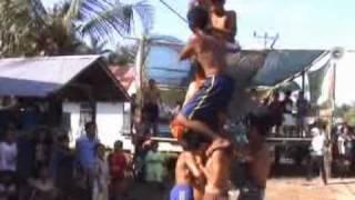 himpad himpunan pemuda pemudi pangkalan darat acara hut ri panjat pinang