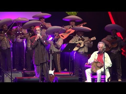 Harry Dean Stanton & Mariachi Los Reyes at the Harry Dean Stanton Award Show