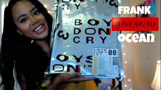 unboxing | Frank Ocean's Boy's Don't Cry Magazine [GIVEAWAY CLOSED]