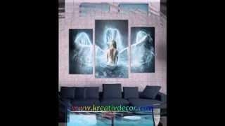 МОДУЛЬНЫЕ КАРТИНЫ !!!(Наш сайт: http://kreativdecor.com Модульные картины -- это художественные произведения, состоящие из нескольких часте..., 2013-04-03T13:06:19.000Z)