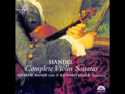 Handel Complete Violin Sonatas