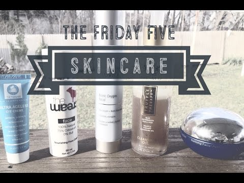 The Friday 5- Skincare