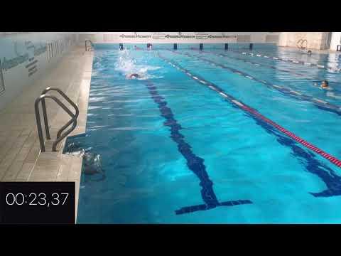 Заплыв на 50 метров в Fitnes Port Абакан. 16 мая 2018