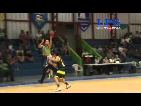Santa Tecla derrotó a los Tigres en la liga nacional de baloncesto