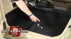 Mustang ACC Carpet Original Style Molded Black 2005-2009 Installation