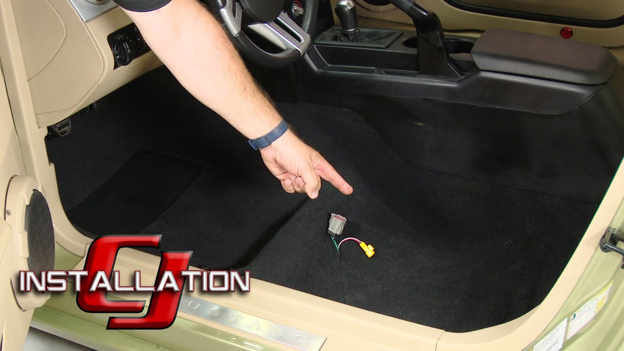 Mustang Acc Carpet Original Style Molded Black 2005 2009
