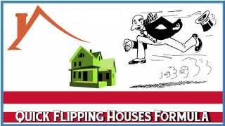 Real Estate Investing 101 - Quick Flipping Houses Formula - Run the Numbers