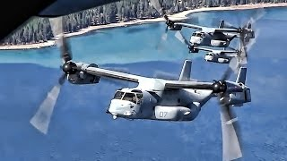 The Beast Helicopter/Airplane Combo • USMC MV-22 Osprey