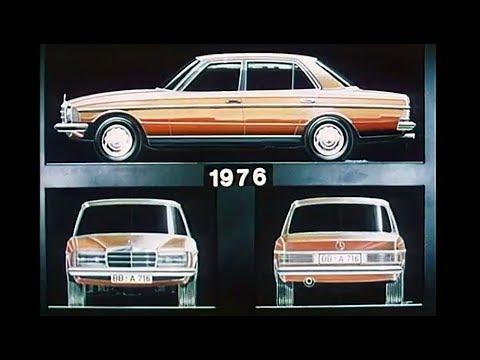 1976 Mercedes-Benz w123 development - design, testing, pre-production