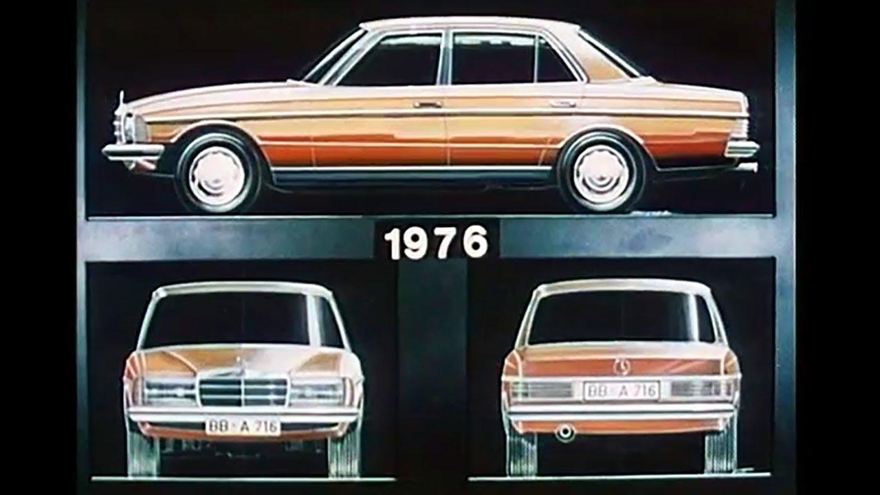 Jak powstała legendarna beczka, czyli Mercedes Benz W123