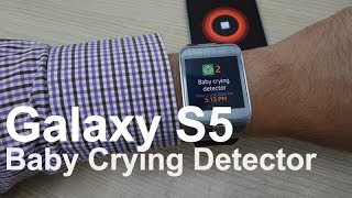 Samsung Galaxy S5 Baby Crying Detector Demo Thumbnail