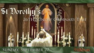 26th Sunday Ordinary Time