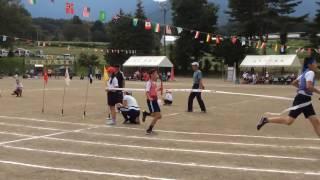小学校運動会のリレーでアンカーがごぼう抜き