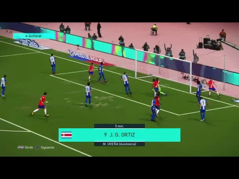Costa Rica vs Honduras Pes 2018