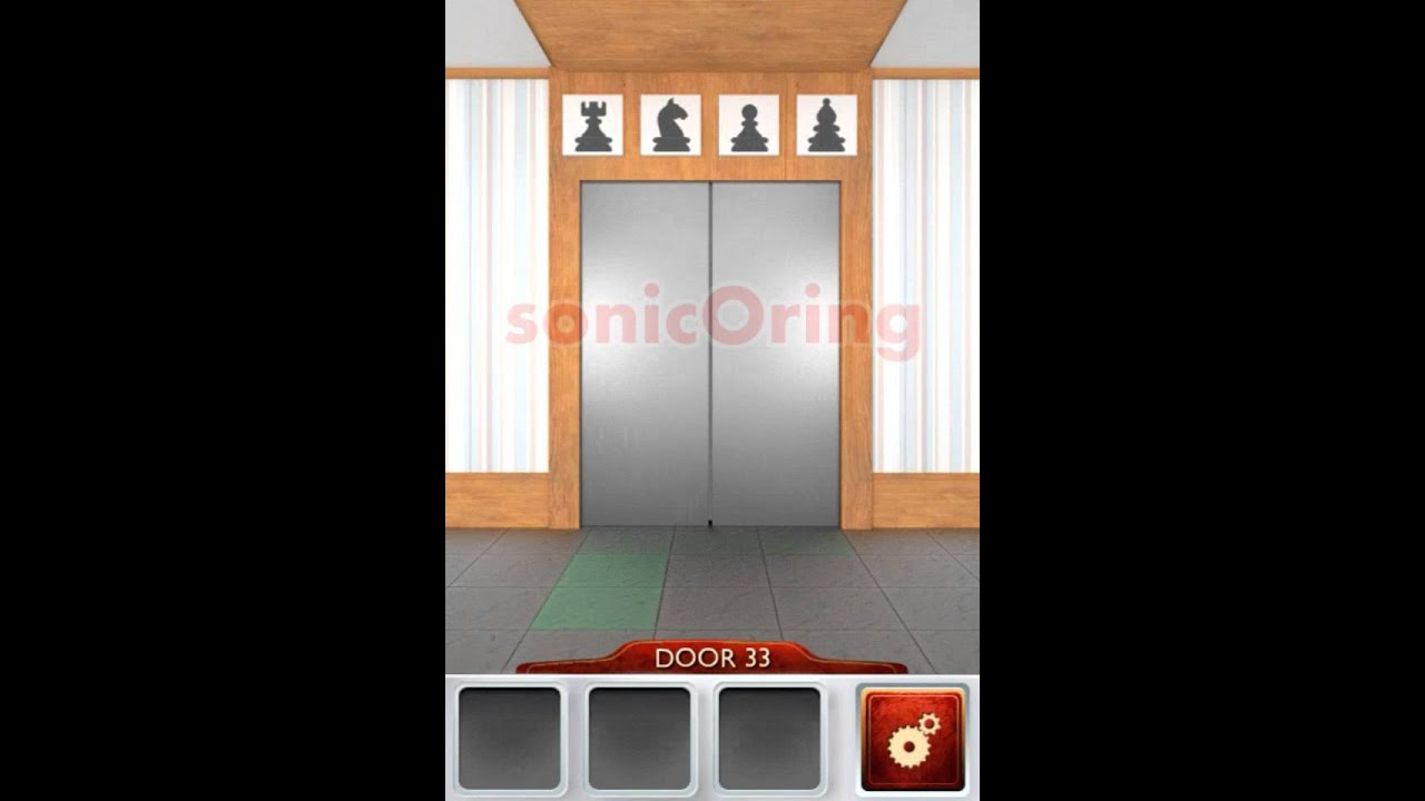 100 doors 2 beta level 33 walkthrough cheats youtube for 16 door puzzle solution