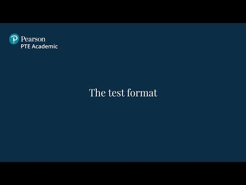 English Proficiency Test Format | PTE Academic