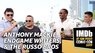 Endgame Writers, Russo Bros & Anthony Mackie Reveal Deleted Scene, Surprises & Decapitated Cap Idea