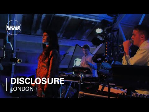 Disclosure - Confess To Me ft. Jessie Ware (Live from Album Launch)