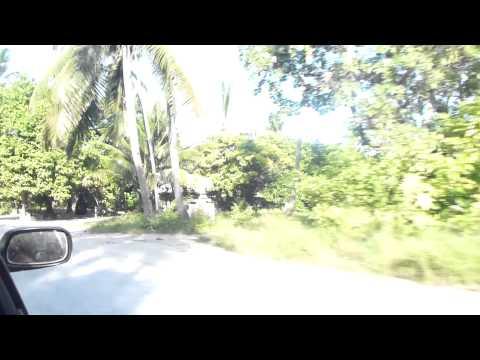 Driving throughout Tarawa Island - Oct/2012